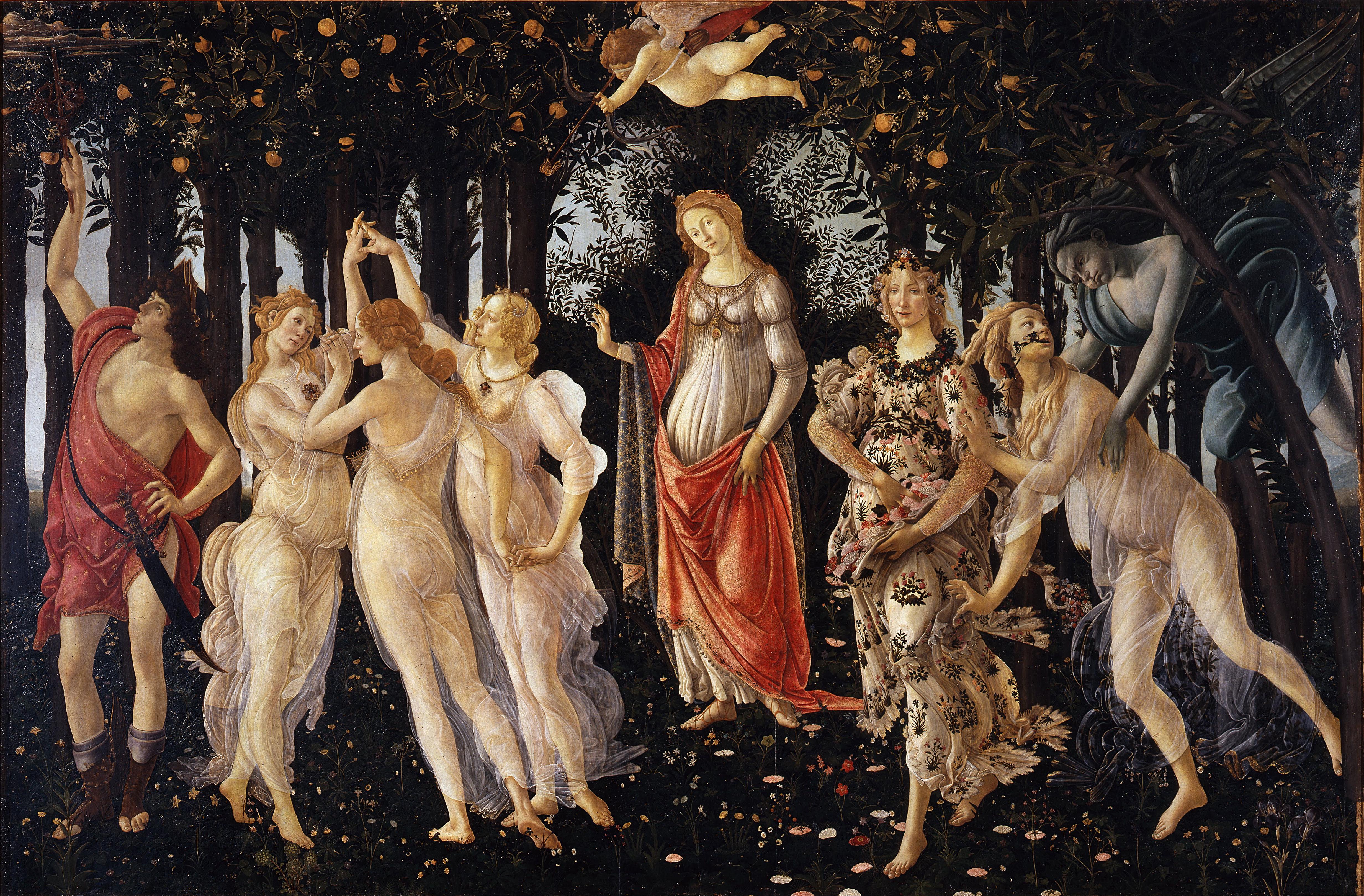 Simonetta Vespucci: Primavera e Venere di Botticelli – Strega Viaggiatrice
